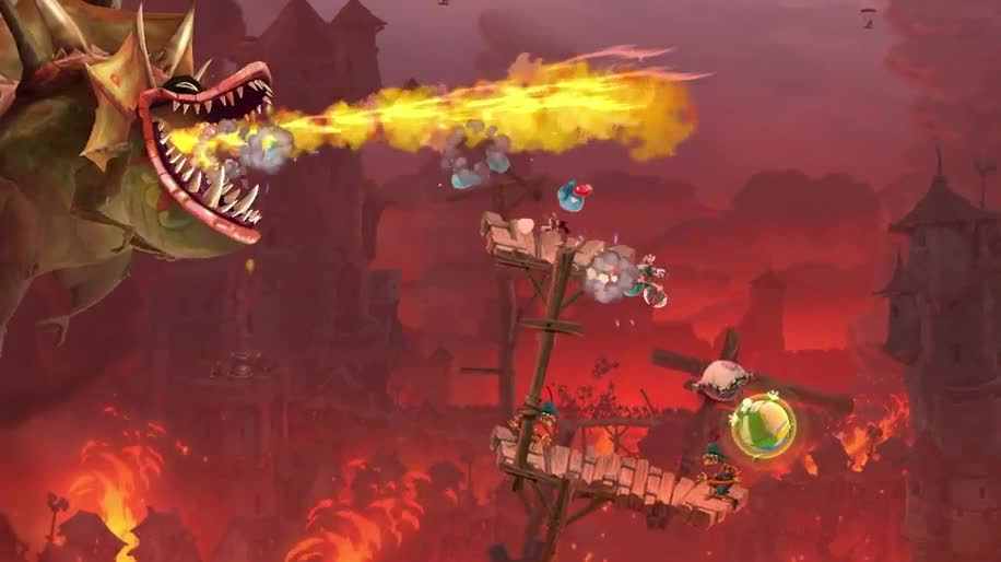 Trailer, Gameplay, E3, Ubisoft, E3 2013, Jump & Run, Rayman, Rayman Legends