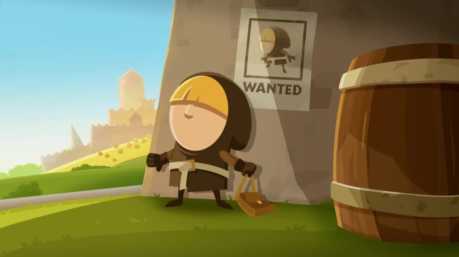 Trailer, Android, iOS, Rovio, Puzzle, Tiny Thief