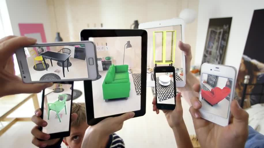 Android, iOS, Augmented Reality, Augmented-Reality, Ikea, möbel