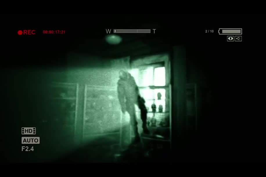 Trailer, Adventure, Horror, Outlast, Red Barrels