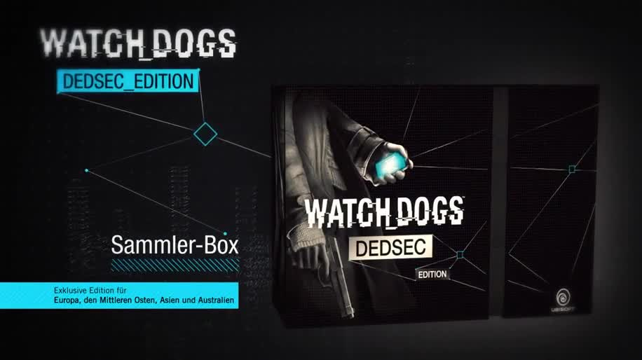 Ubisoft, actionspiel, Watch Dogs, Unboxing, DedSec Edition