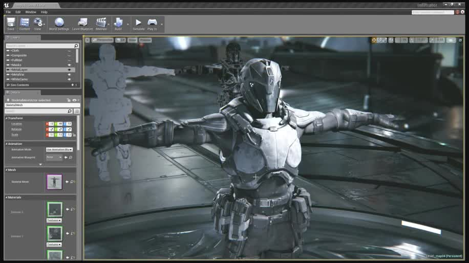 Epic Games, unreal engine 4, Unreal Engine, Grafik-Engine, Infiltrator