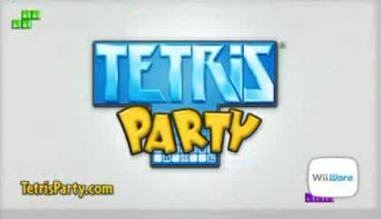 Nintendo, Wii, Party, Tetris