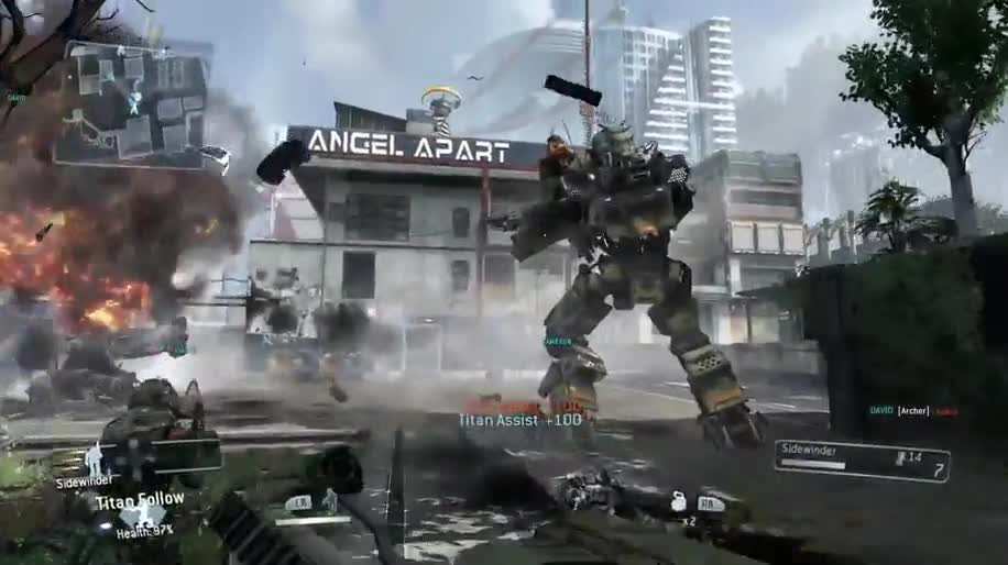 Trailer, Electronic Arts, Ea, actionspiel, Titanfall, Respawn Entertainment