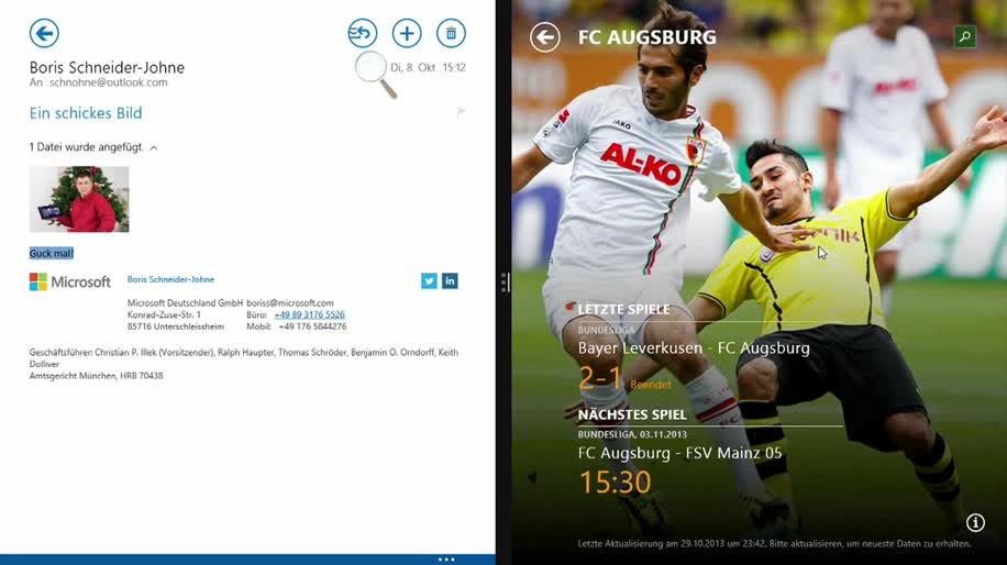 Microsoft, Betriebssystem, Windows, Tablet, Windows 8, Apps, Windows 8.1, Windows 8.1 Blue, Multitasking, Tutorial