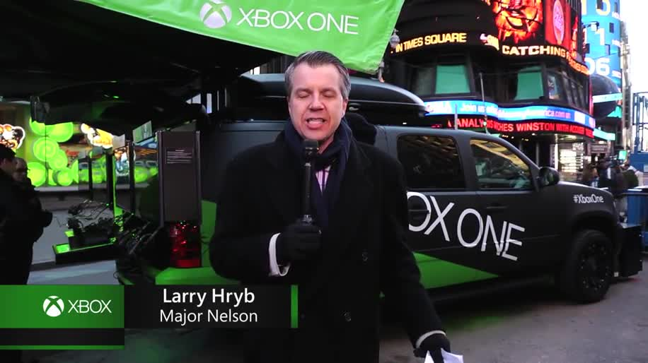 Microsoft, Xbox, Xbox One, Microsoft Xbox One, New York, Times Square