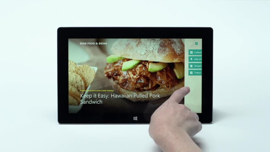 Microsoft, Apple, Windows, Tablet, Ipad, Surface, Microsoft Surface, Windows RT, Apple Ipad, Sprachsteuerung, Surface RT, Surface Tablet, Surface 2, iPad air, Apple iPad air, Kochen