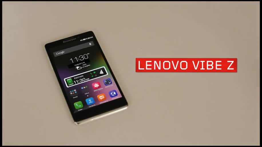 Smartphone, Android, Lenovo, Ces, Ces 2014, Android 4.3, Google Android 4.3, Lenovo Vibe Z, Vibe Z