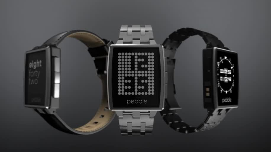 smartwatch, Ces, E-Ink, ces 2013, pebble, Gorilla Glas, Pebble Steel