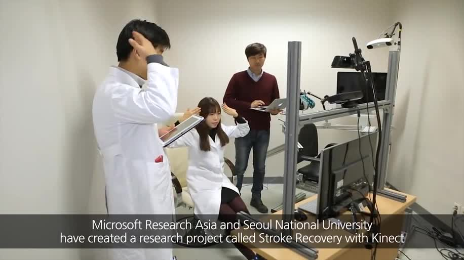 Microsoft, Forschung, Kinect, Microsoft Research, Research, Therapie, Schlaganfall
