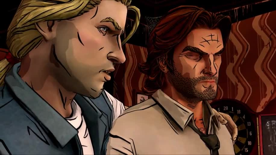 Trailer, Adventure, Telltale, The Wolf Among Us