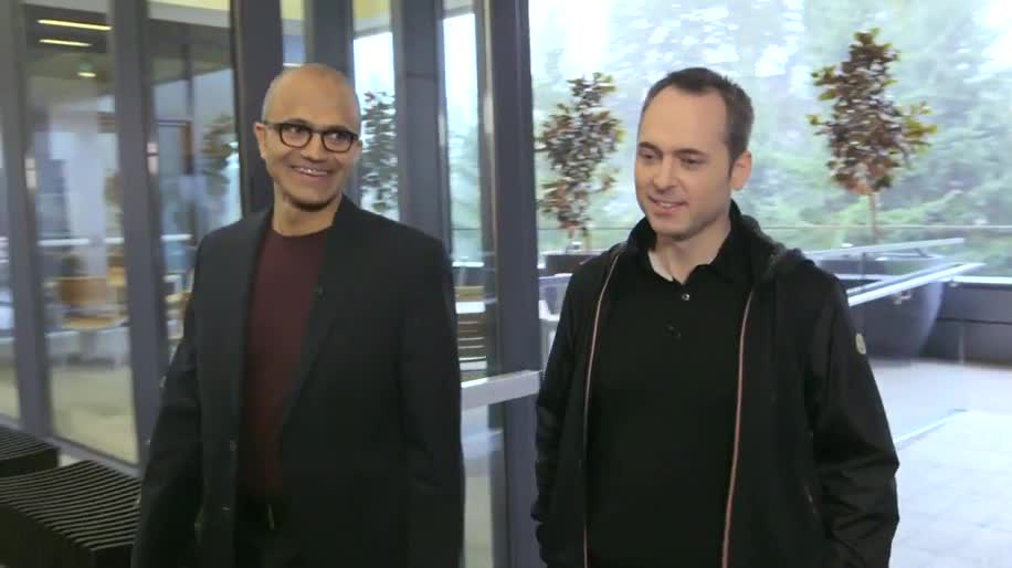 Microsoft, Microsoft Corporation, Ceo, Satya Nadella, Interview