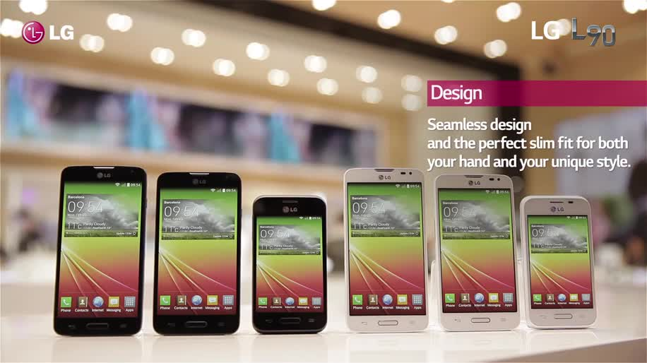 Smartphone, Android, LG, Hands-On, Mwc, MWC 2014, LG L90, L Series III, L90