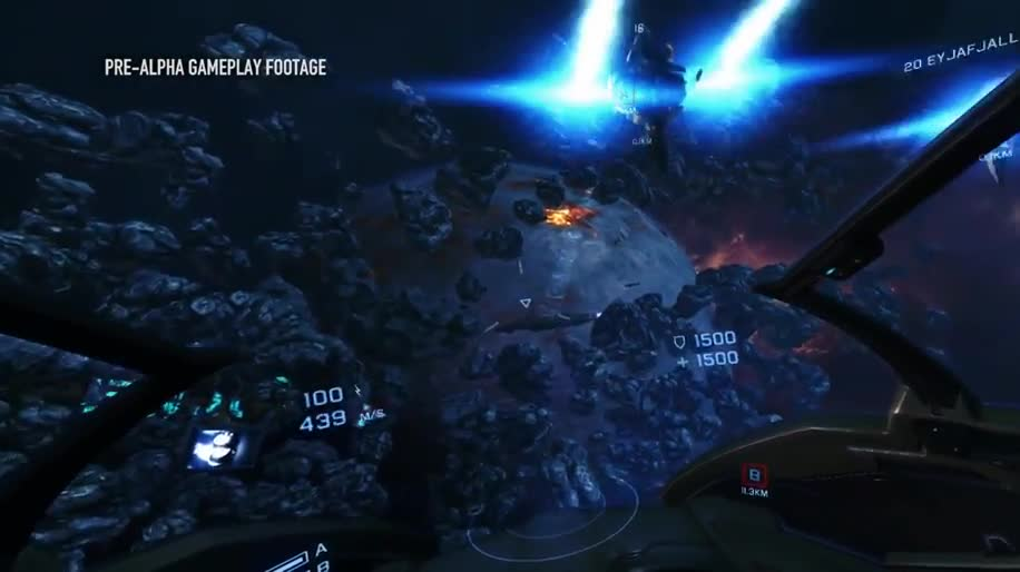 Gameplay, Shooter, GDC, Game Developers Conference, CCP Games, GDC 2014, Eve Valkyre