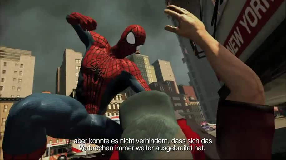 Trailer, actionspiel, Activision, Marvel, Spider-Man, The Amazing Spider-Man, The Amazing Spider-man 2, Kingpin