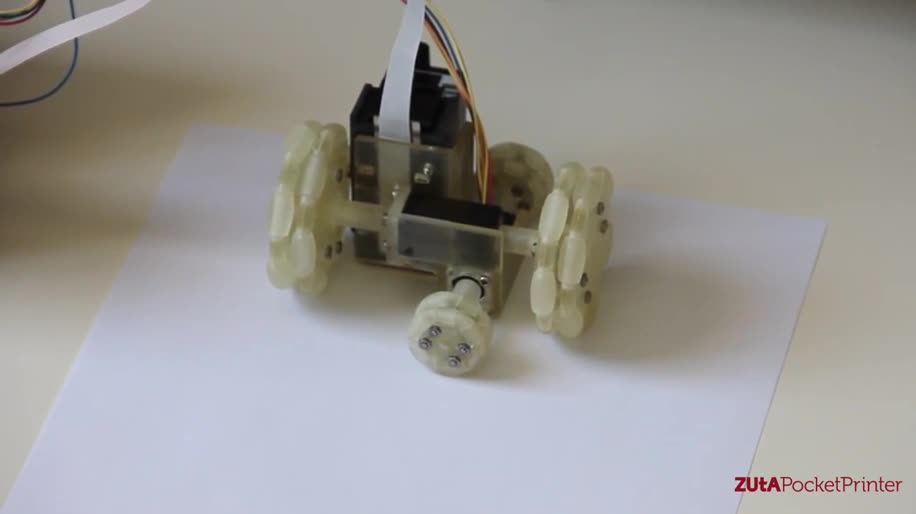 Kickstarter, Drucker, Drucken, Zuta Labs, Mini Mobile Robotic Printer