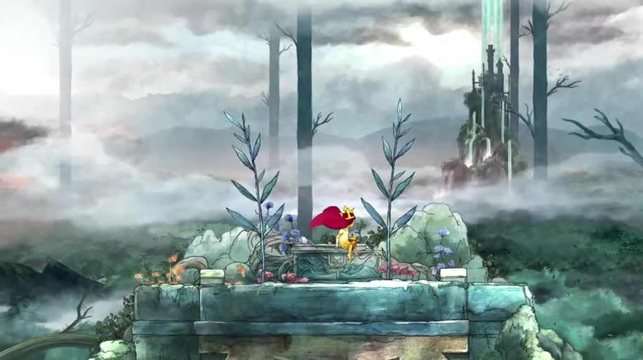 Trailer, Ubisoft, Rollenspiel, Child of Light