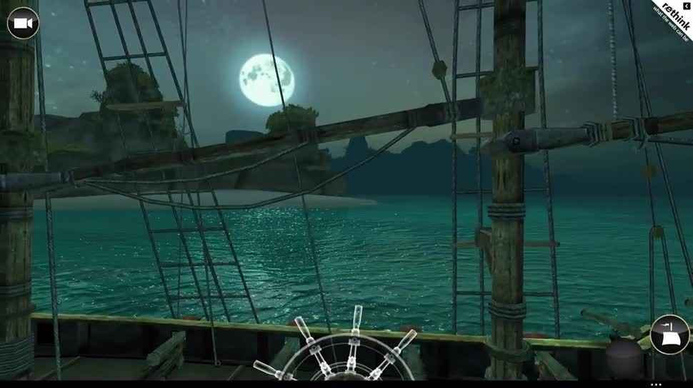 Microsoft, Ubisoft, Internet Explorer, Assassin's Creed, Touch, Html5, JavaScript, Webgl, HTML 5, Browser-Spiel, Browser-Game, Assassin's Creed Pirates Web Demo, Assassin's Creed Pirates, Babylon.js