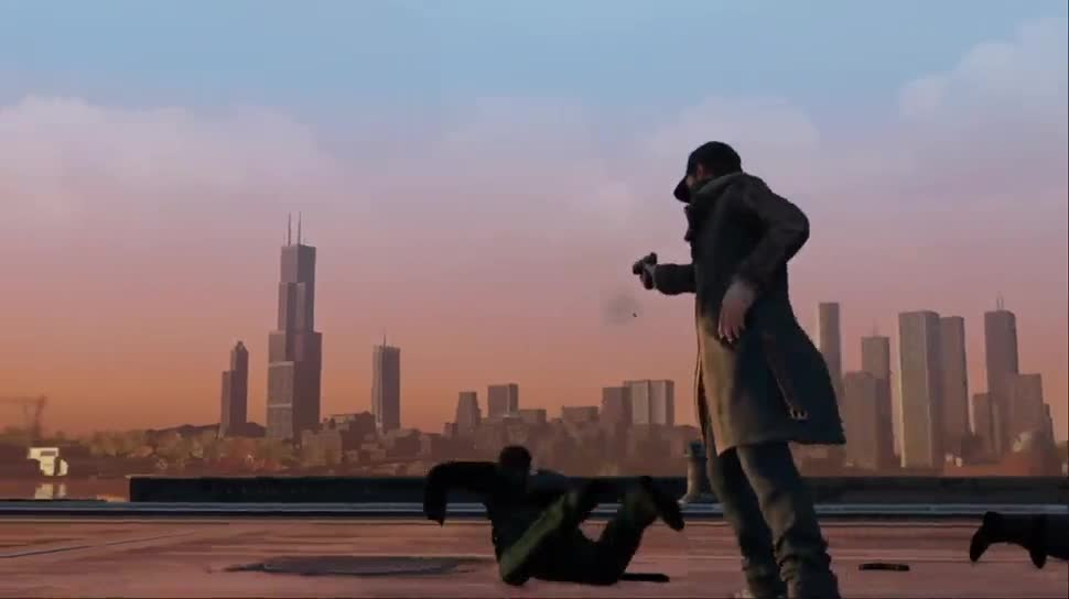 Trailer, Ubisoft, actionspiel, Watch Dogs