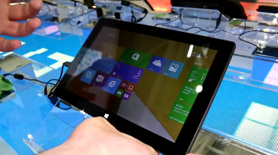 Tablet, Windows 8, Windows 8.1, Hands-On, Computex, Computex 2014, Emdoor, South Digital W110A, W110A, South Digital