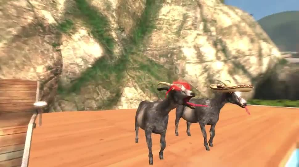 Trailer, Simulation, Coffee Stain Studios, Goat Simulator