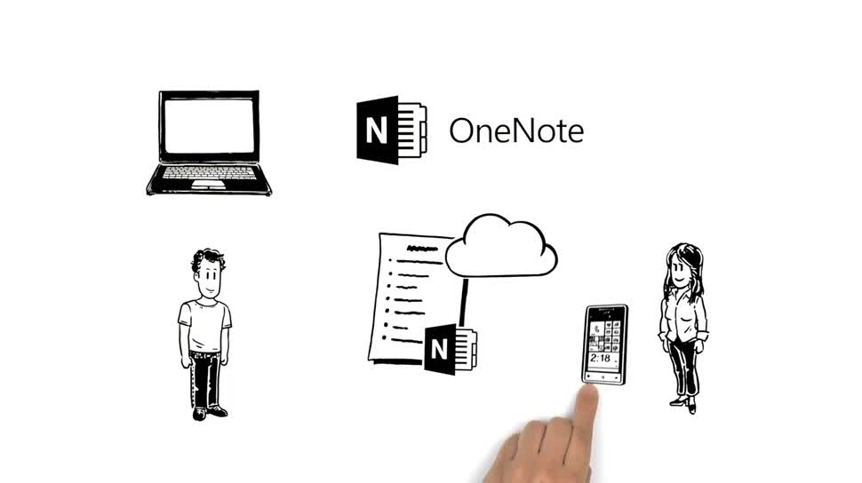 Microsoft, Office, Cloud, Office 365, Cloudsynchronisation, Cloud Drive, Cloud-Speicher, OneNote