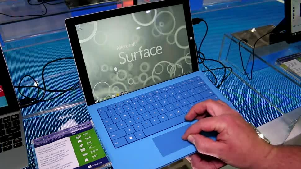 Microsoft, Tablet, Surface, Microsoft Surface, Surface Pro 3, Computex, Surface Tablet, Microsoft Surface Pro 3, Computex 2014