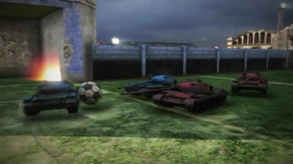 Trailer, Online-Spiele, Free-to-Play, Fußball, World of Tanks, Wargaming.net, Panzer