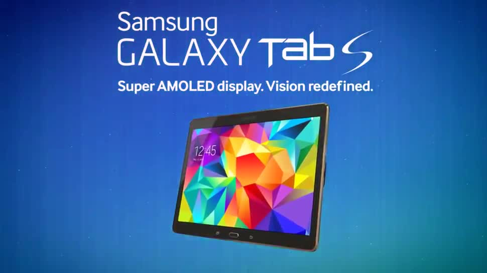 Android, Tablet, Samsung, Werbespot, Samsung Galaxy, Galaxy, Samsung Mobile, SuperAMOLED, Samsung Galaxy Tab S, Galaxy tab S 10.5, Super AMOLED