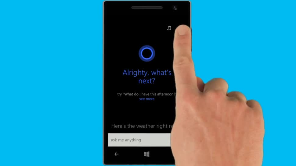 Microsoft, Smartphone, Windows Phone, Windows Phone 8.1, Cortana, Sprachsteuerung, Spracherkennung, Spracheingabe