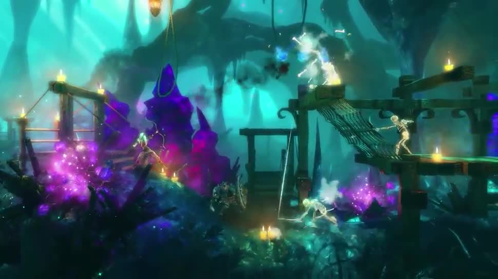 Trailer, Puzzle, Trine, Enchanted Edition, Frozenbyte Games