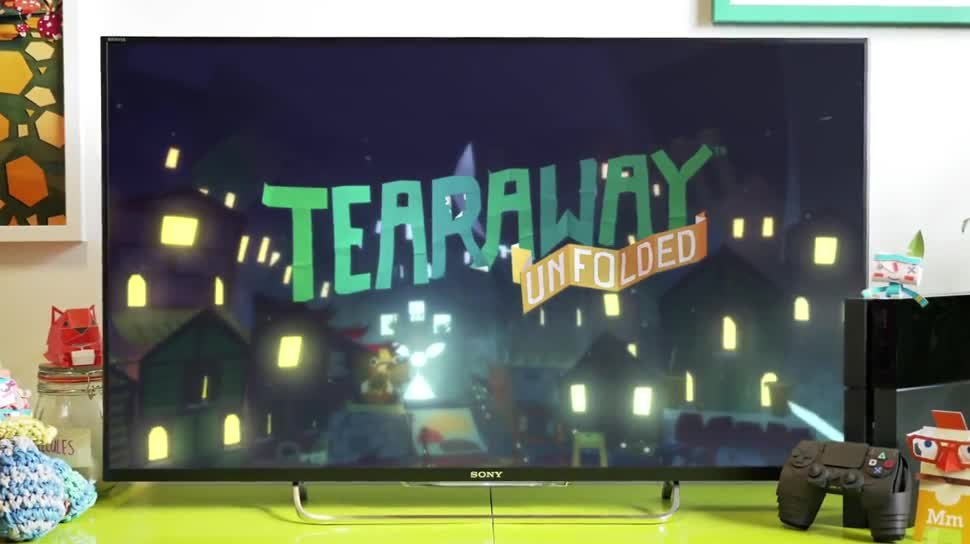 Trailer, Sony, PlayStation 4, Playstation, PS4, Sony PlayStation 4, Gamescom, Sony PS4, Gamescom 2014, Gamescom 2014 Sony, Tearaway, Tearaway Unfolded