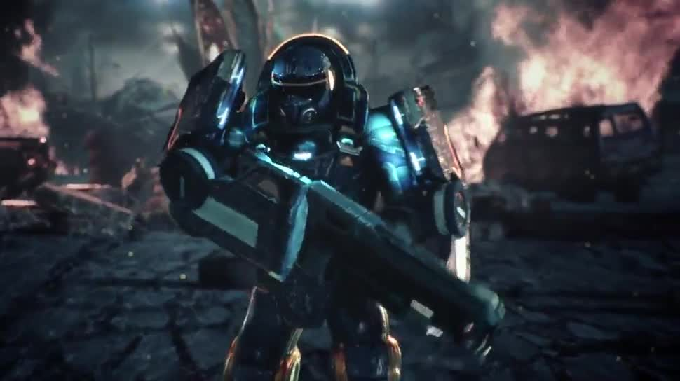 Trailer, Sony, PlayStation 4, Playstation, PS4, Sony PlayStation 4, Gamescom, Shooter, Sony PS4, Gamescom 2014, Gamescom 2014 Sony, Alienation, Housemarque