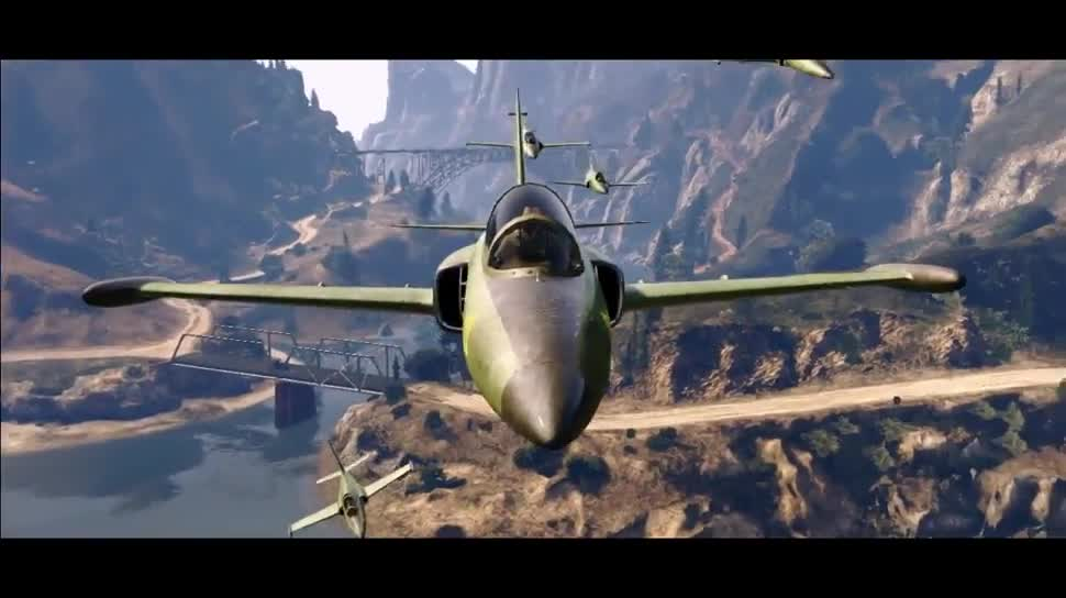 Trailer, Update, Patch, Rockstar Games, Rockstar, GTA 5, Gta, Grand Theft Auto 5, Grand Theft Auto, Grand Theft Auto V, GTA Online, Flight School Update