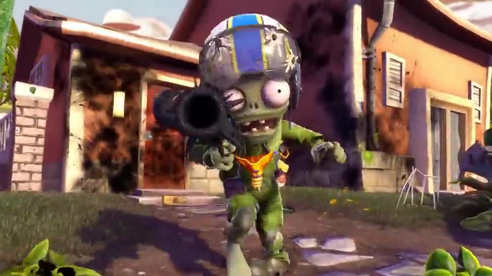 Trailer, Sony, Electronic Arts, Ea, PlayStation 4, Playstation, PS4, Sony PlayStation 4, Shooter, PlayStation 3, PS3, Sony PS4, PopCap, Plants vs Zombies, Garden Warfare, Pflanzen gegen Zombies