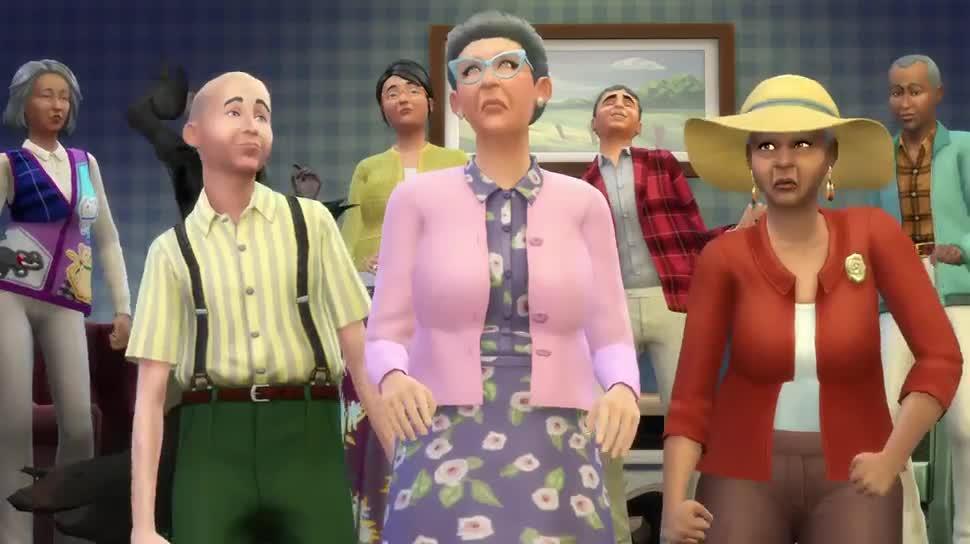 Trailer, Electronic Arts, Ea, Simulation, Die Sims 4, Die Sims, Maxis, Sims