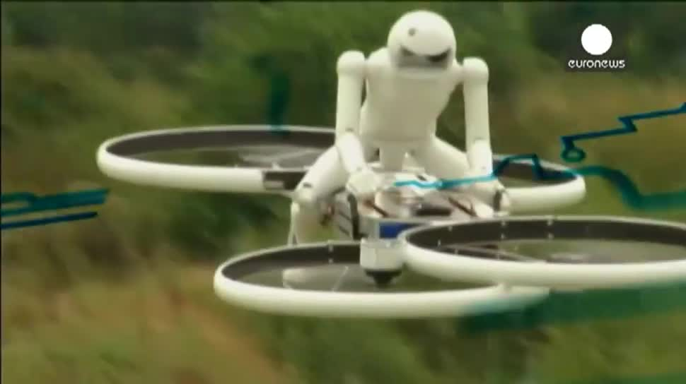 Star Wars, Kickstarter, Drohne, Quadcopter, Hubschrauber, Jedi, Bicopter, Motion-Quadcopters, Malloy Aeronautics, Chris Malloy, Hoverbike