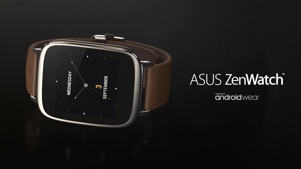 smartwatch, Asus, Ifa, Wearables, Android Wear, IFA 2014, ZenWatch