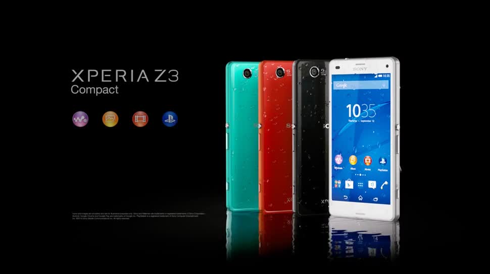 Smartphone, Android, Sony, Ifa, Xperia, IFA 2014, Sony Xperia, Xperia Z, Sony Xperia Z, Xperia Z3 Compact, Sony Xperia Z3 Compact