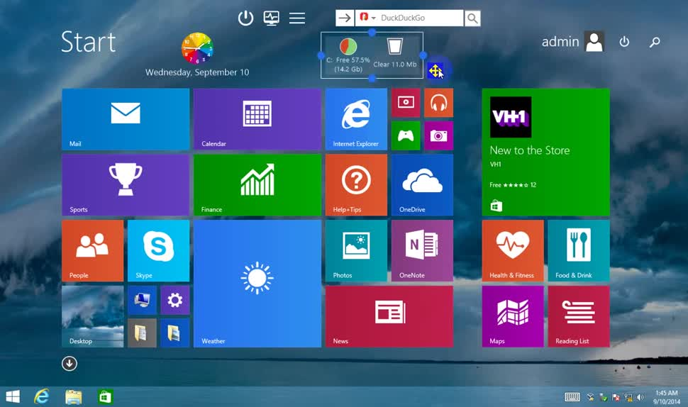 Windows, Windows 8, Windows 8.1, Startbildschirm, Gadgets, Start Screen Unlimited
