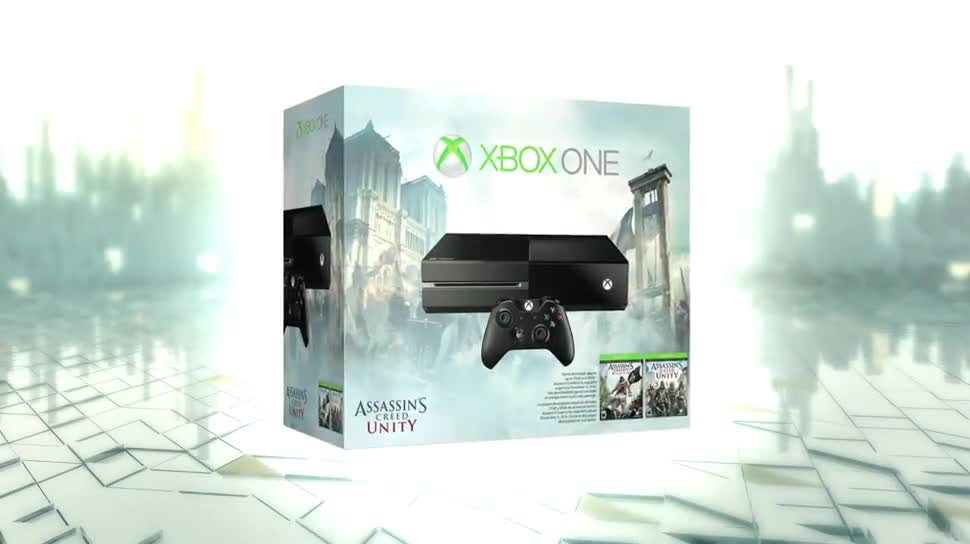 Microsoft, Xbox One, Ubisoft, actionspiel, Assassin's Creed, Bundle, Assassin's Creed Unity, Assassin's Creed 4: Black Flag, Black Flag