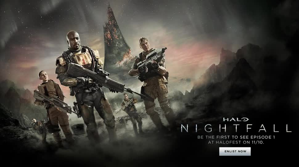 Microsoft, Trailer, Xbox One, Microsoft Xbox One, Serie, Halo, The Master Chief Collection, Halo: Nightfall, Ridley Scott
