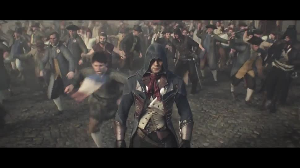 Werbespot, Ubisoft, actionspiel, Assassin's Creed, Assassin's Creed Unity