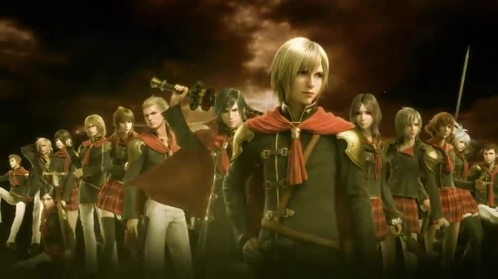 Trailer, Rollenspiel, Square Enix, Final Fantasy, Paris Games Week, Final Fantasy Type-0 HD, Final Fantasy Type-0, Paris Games Week 2014