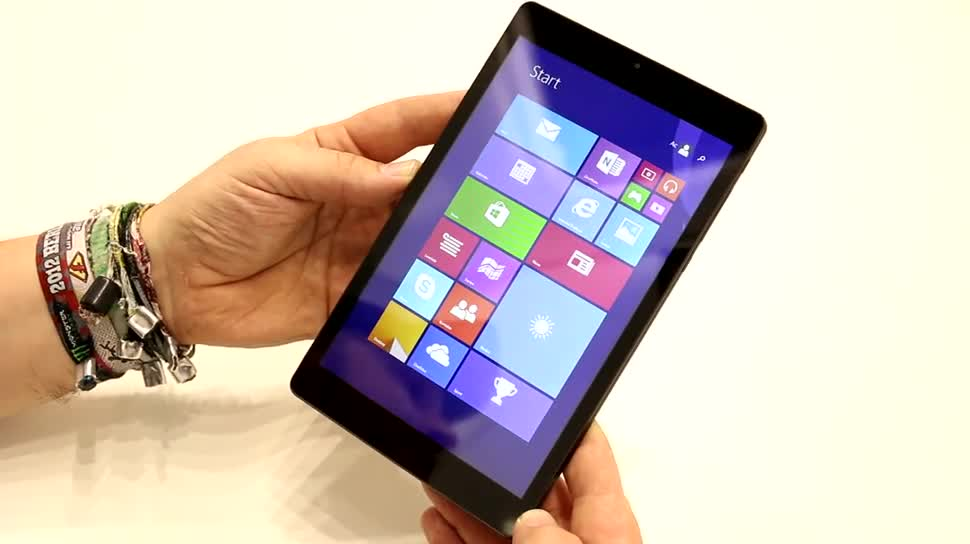 Tablet, Windows 8.1, Quadcore, Hands-On, Test, Hands on, Review, IFA 2014, Intel Atom Z3735F, Odys, Odys WinTab Gen8, Odys WinTab Gen 8, WinTab Gen 8