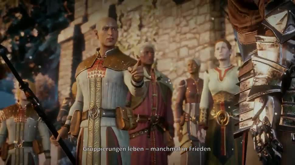 Trailer, Electronic Arts, Ea, BioWare, Dragon Age Inquisition, Dragon Age 3: Inquisition, Dragon Age 3