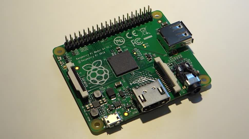 mini-pc, raspberry pi, minirechner, Raspberry Pi Model A+