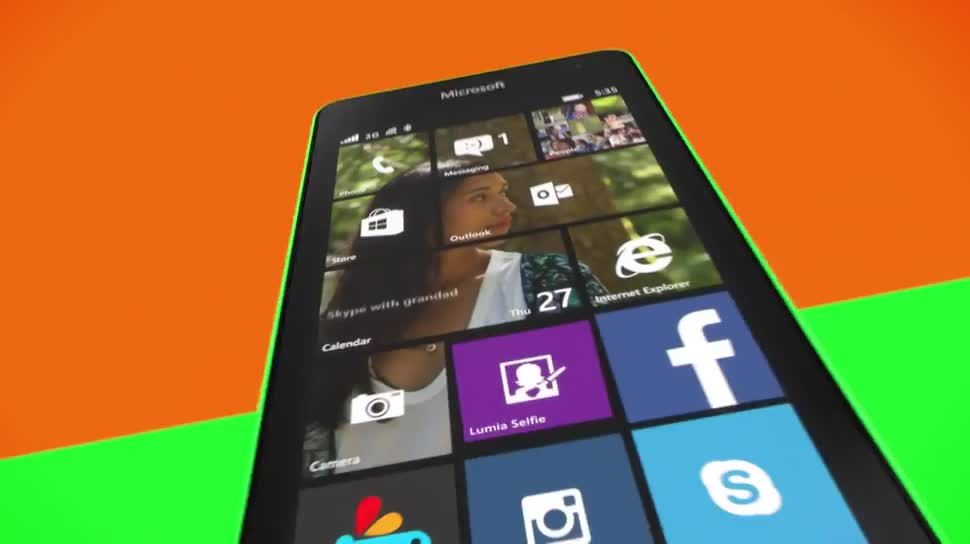 Microsoft, Smartphone, Windows Phone, Windows Phone 8, Werbespot, Lumia, WP8, Microsoft Lumia 535, Lumia 535