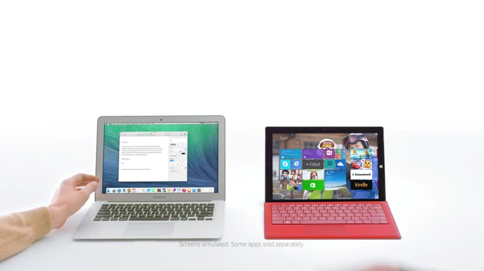 Microsoft, Apple, Tablet, Surface, Microsoft Surface, Werbespot, Microsoft Surface Pro, Macbook, Surface Pro 3, Surface Tablet, Microsoft Surface Pro 3, Macbook Air, Apple MacBook Air