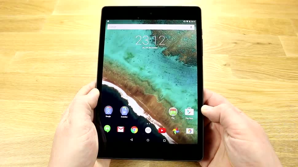 Tablet, Nvidia, Test, Nexus, Review, 64-Bit, Dualcore, 64 Bit, Nexus 9, Tegra K1, Nvidia Tegra K1, HTC Nexus 9, Google Nexus 9, K1